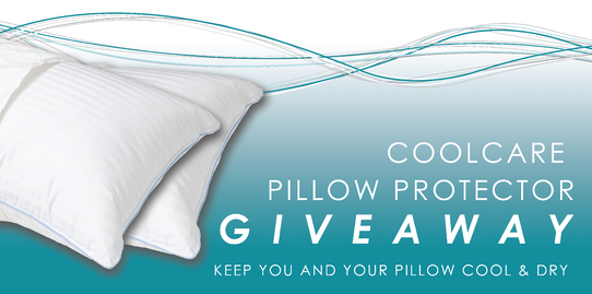 LiveSmart Coolcare Pillow Protector Giveaway